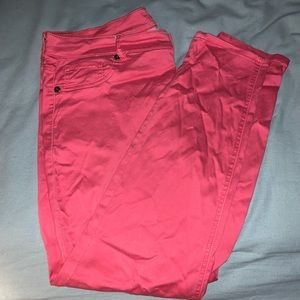 Maurice's Size 18 Pink Jegging